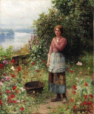 Daniel Ridgway Knight - The Age of Innocence