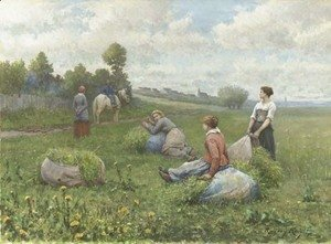 Daniel Ridgway Knight - The Harvest