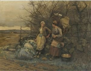 Daniel Ridgway Knight - Maidens Waiting