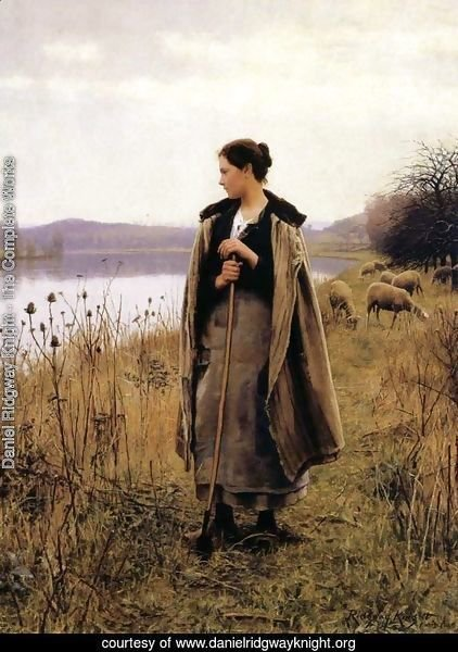 The Shepherdess of Rolleboise