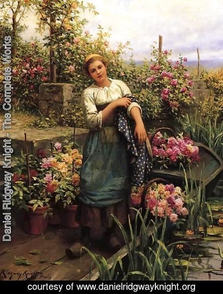 Daniel Ridgway Knight - The Flower Boat